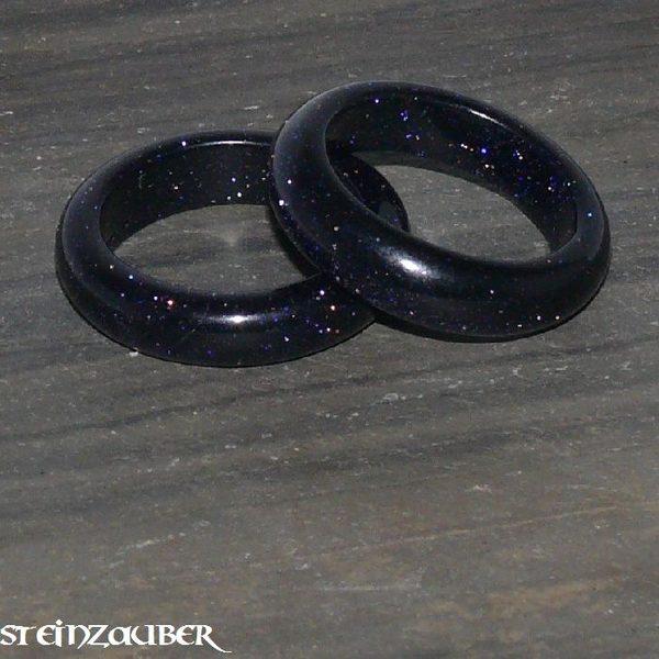 Edelstein Ring Blaufluss