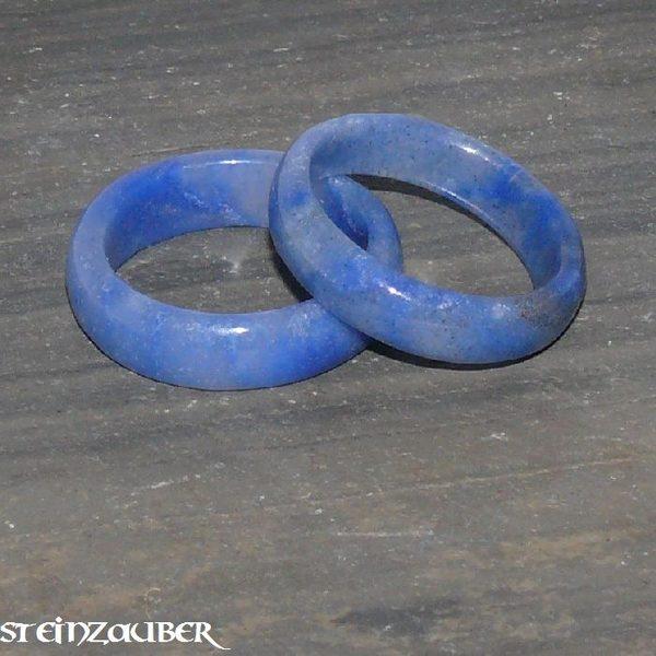 Edelstein Ring Blauquarz