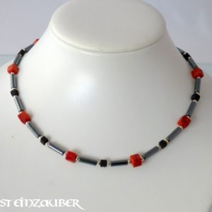 Collier 'Red Dices'