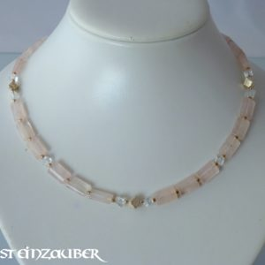 Collier 'Tender Rose'