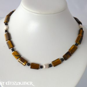 Collier 'Tiger Silver'