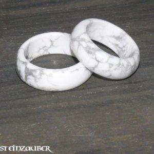 Edelstein Ring Magnesit