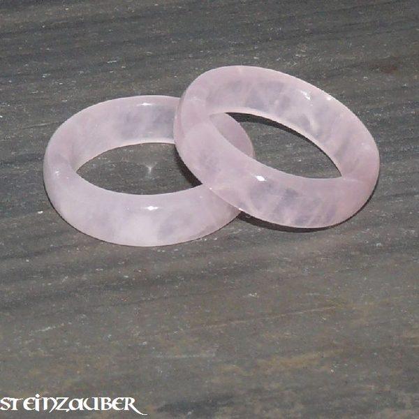 Edelstein Ring Rosenquarz
