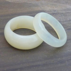 Edelstein Ring Serpentin