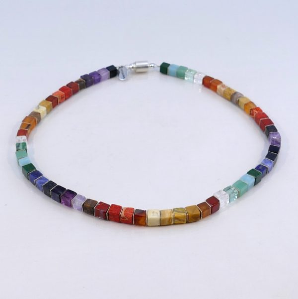 Collier 'Colors of the Rainbow'