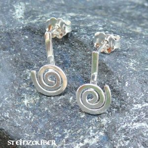 Ohrringdonuts Halter Silber