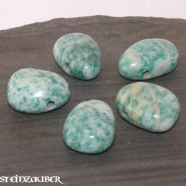 Chinesische Jade Trommelstein