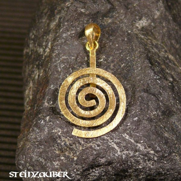 Donuthalter Spirale Gold