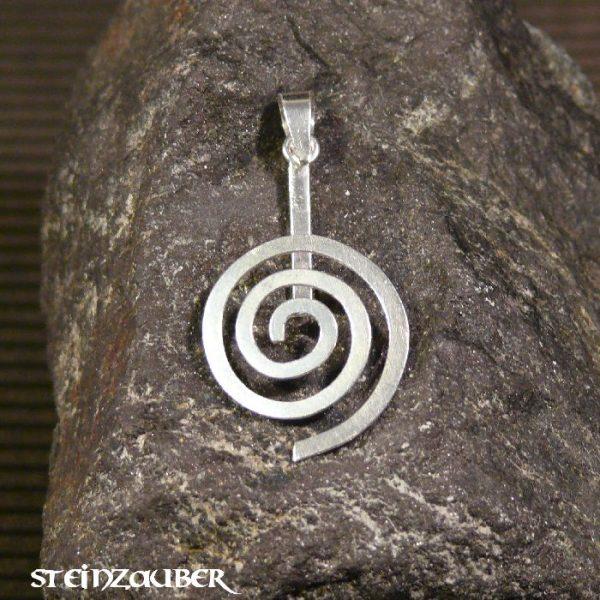 Donuthalter Spirale Silber