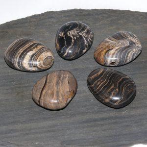 Stromatolith Trommelstein