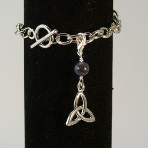Charms Keltischer Knoten Sodalith
