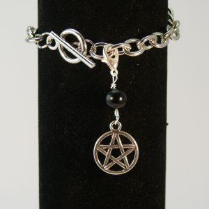Charms Pentagramm Onyx