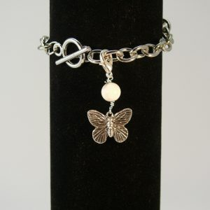 Charms Schmetterling Magnesit