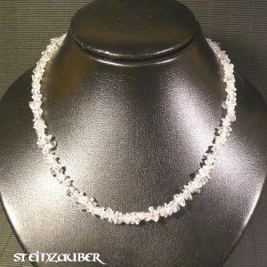 Splitterkette ca. 45 cm aus Bergkristall