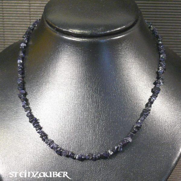 Splitterkette ca. 45 cm aus Blaufluss