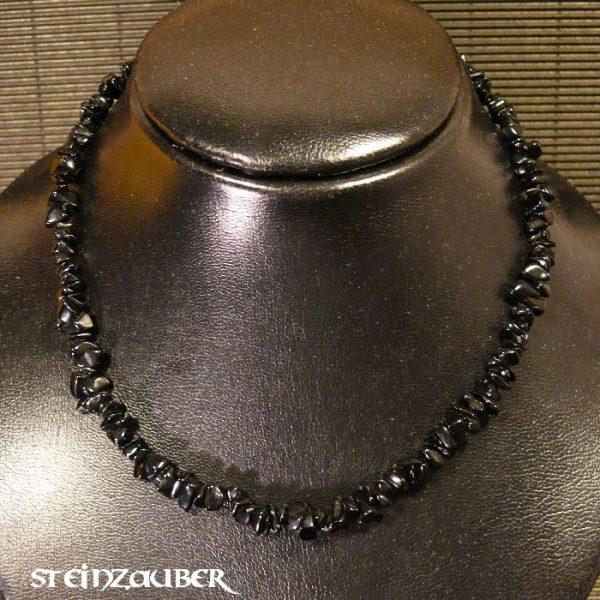 Splitterkette ca. 45 cm aus Onyx