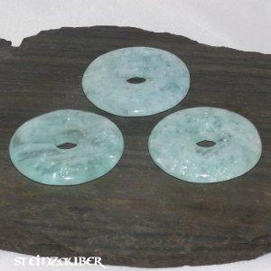 Donut aus Aquamarin 40 mm