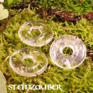 Donut aus Bergkristall 30 mm