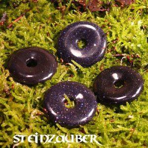 Donut aus Blaufluss 30 mm
