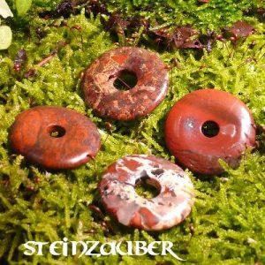 Donut aus Breckzienjaspis 30 mm