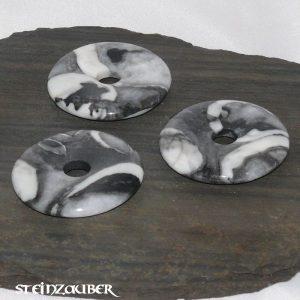 Donut aus Fossilkalk 40 mm