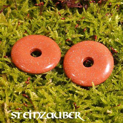 Donut aus Goldfluss 30 mm