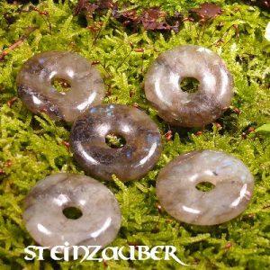 Donut aus Labradorit 30 mm