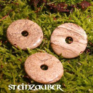 Donut aus Landschaftsjaspis 30 mm