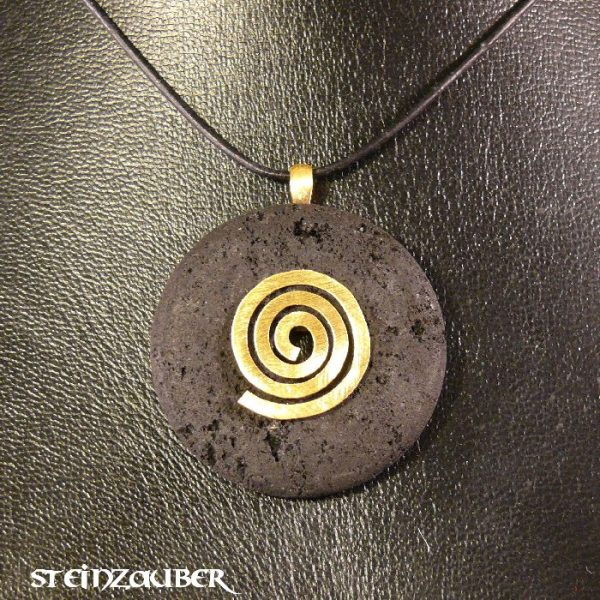 Donut aus Lava 40 mm