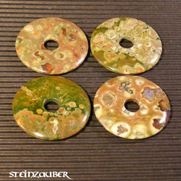 Donut aus Rhyolith (Regenwald-Rhyolith) 40 mm