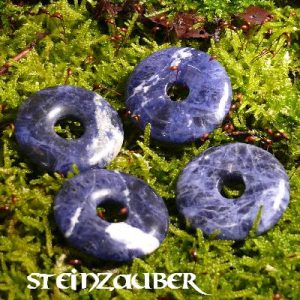 Donut aus Sodalith 30 mm