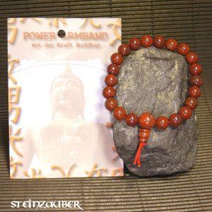 Buddha Power Armband Breckzienjaspis