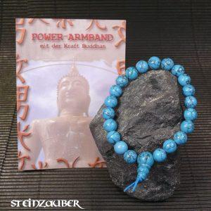 Buddha Power Armband Türkenit