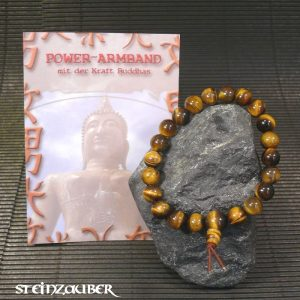 Buddha Power Armband Tigerauge
