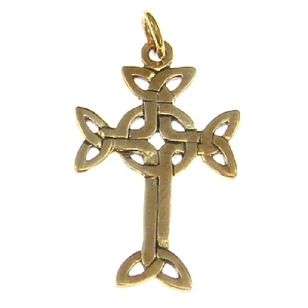 Amulett Arankreuz aus Bronze