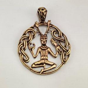 Bronze Amulett Cerunnus
