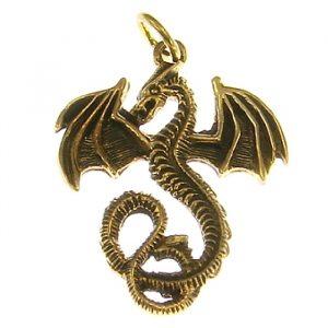 Bronze Amulett Drache Luftdrache