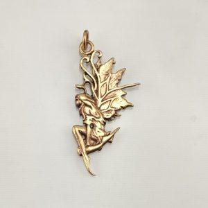 Bronze Amulett Wald Elfe