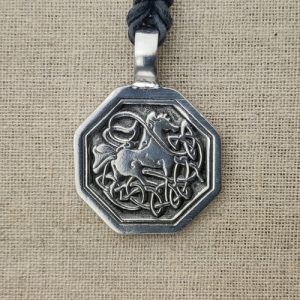Amulett Keltischer Knoten aus Zinn