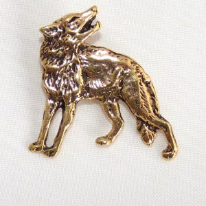 Amulett Wolf aus Bronze