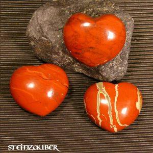 Herz Bänder Jaspis