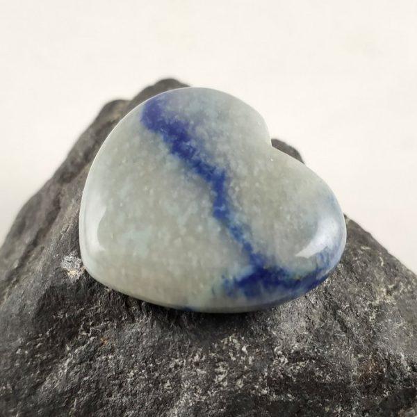 Herz Blauquarz
