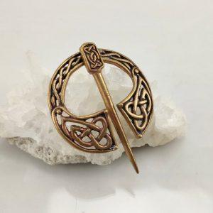 Keltische Fibel aus Bronze
