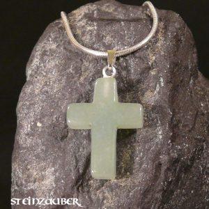 Kreuz aus Aventurin