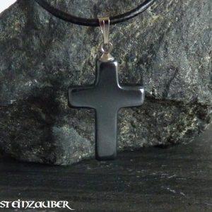 Kreuz aus Hämatit
