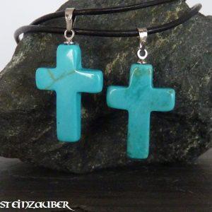 Kreuz aus Türkenit