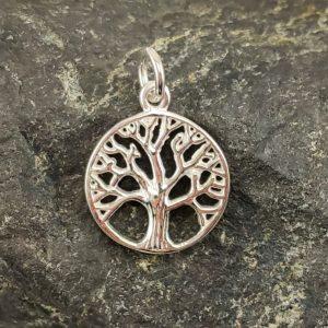 Amulett Baum des Lebens Silber