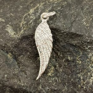 Amulett Engelsflügel Silber