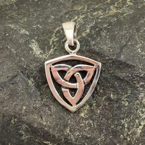 Amulett Keltischer Knoten Silber