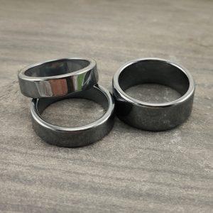 Edelstein Ring Hämatit